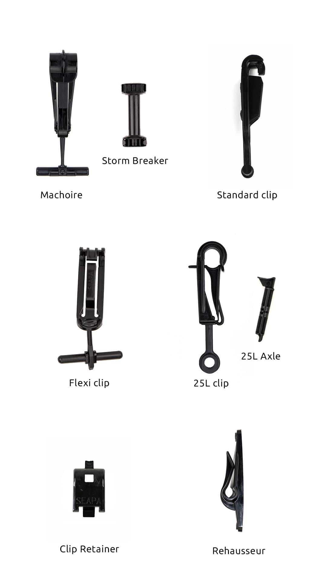 Seapa accessories